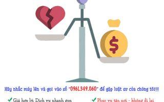 Hướng dẫn việc chia tài sản khi ly hôn