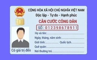 THỦ TỤC CẤP MỚI, ĐỔI CCCD