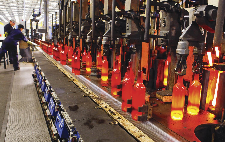 Công ty sản xuất thủy tinh