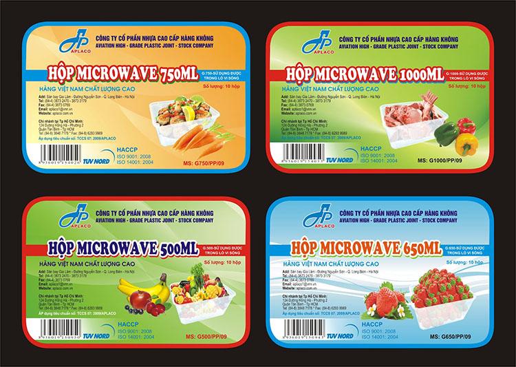 Ghi nhãn thực phẩm đúng quy định của pháp luật